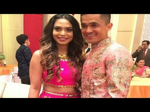 Sunil Chhetri engaged to long-term girlfriend Sonam