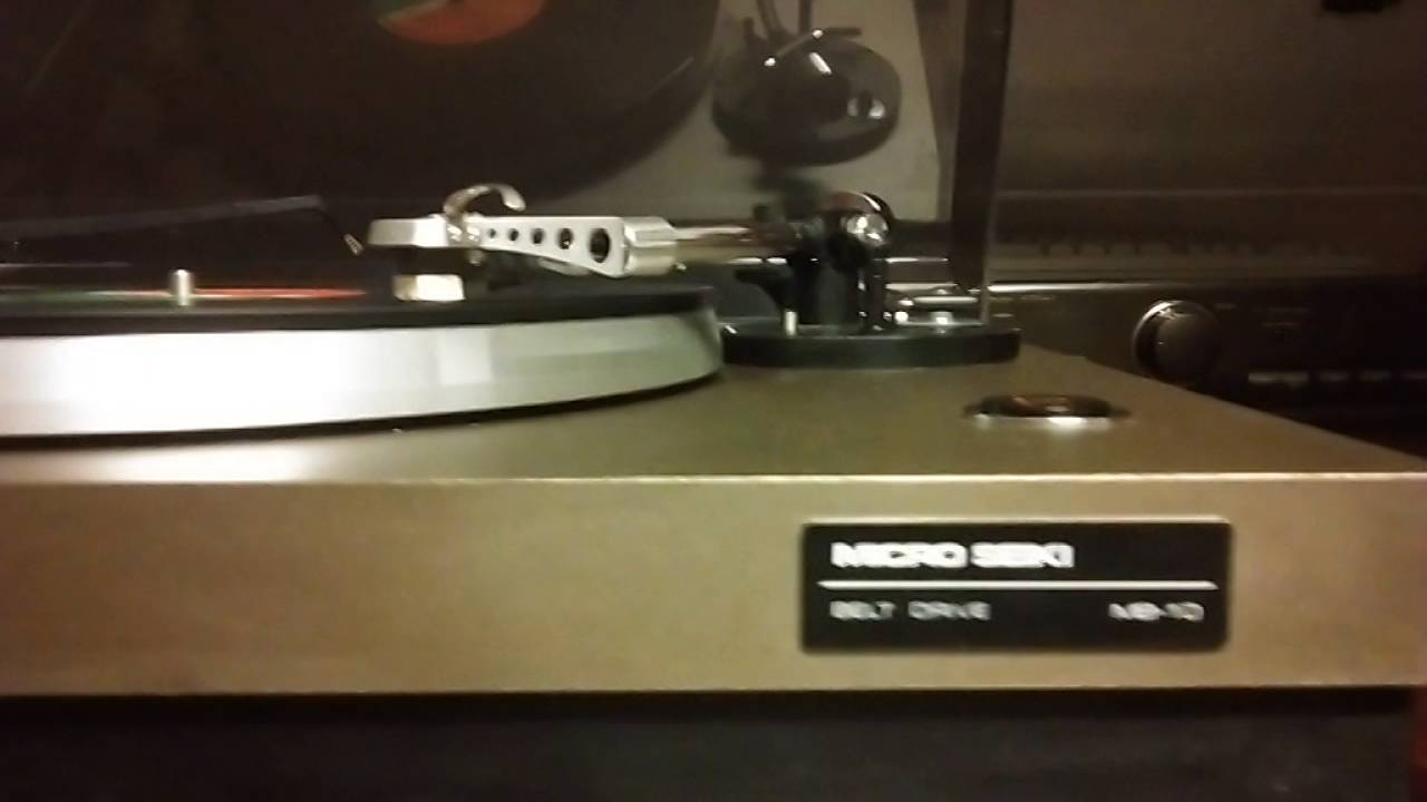 Micro Seiki MB 10 Turntable playing Foreigner - Cold as Ice ~ Vinyl