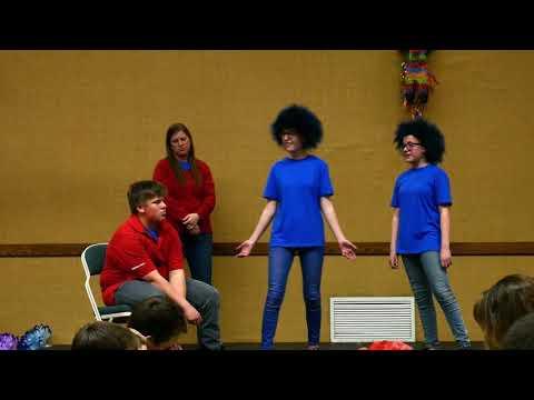 Pinon Hills Ward Birthday Talent Show