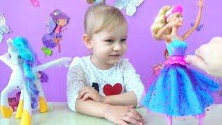 Барби Балерина умеет танцевать распаковка Barbie Ballerina can dance