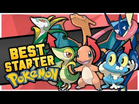 Who Is The BEST Starter Pokemon In Each Region?