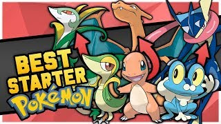 Who Is The BEST Starter Pokemon In Each Region?