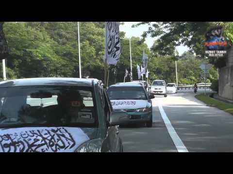 Convoy Al Liwa' and Ar-Rayah Hizb ut Tahrir Malaysia (Cheras-Kajang)