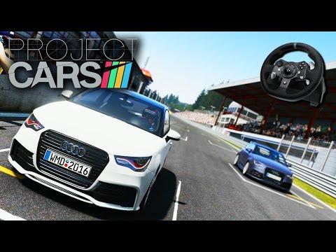 PROJECT CARS - Circuito Insano e correndo bem de Audi A1 (G920)