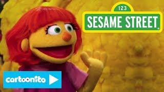 Sesame Street   Big Bird Meets Julia   Cartoonito