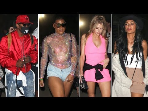 Jamie Foxx, EJ Johnson, Charlotte McKinney, Migos And More Attend Neon Carnival In Coachella