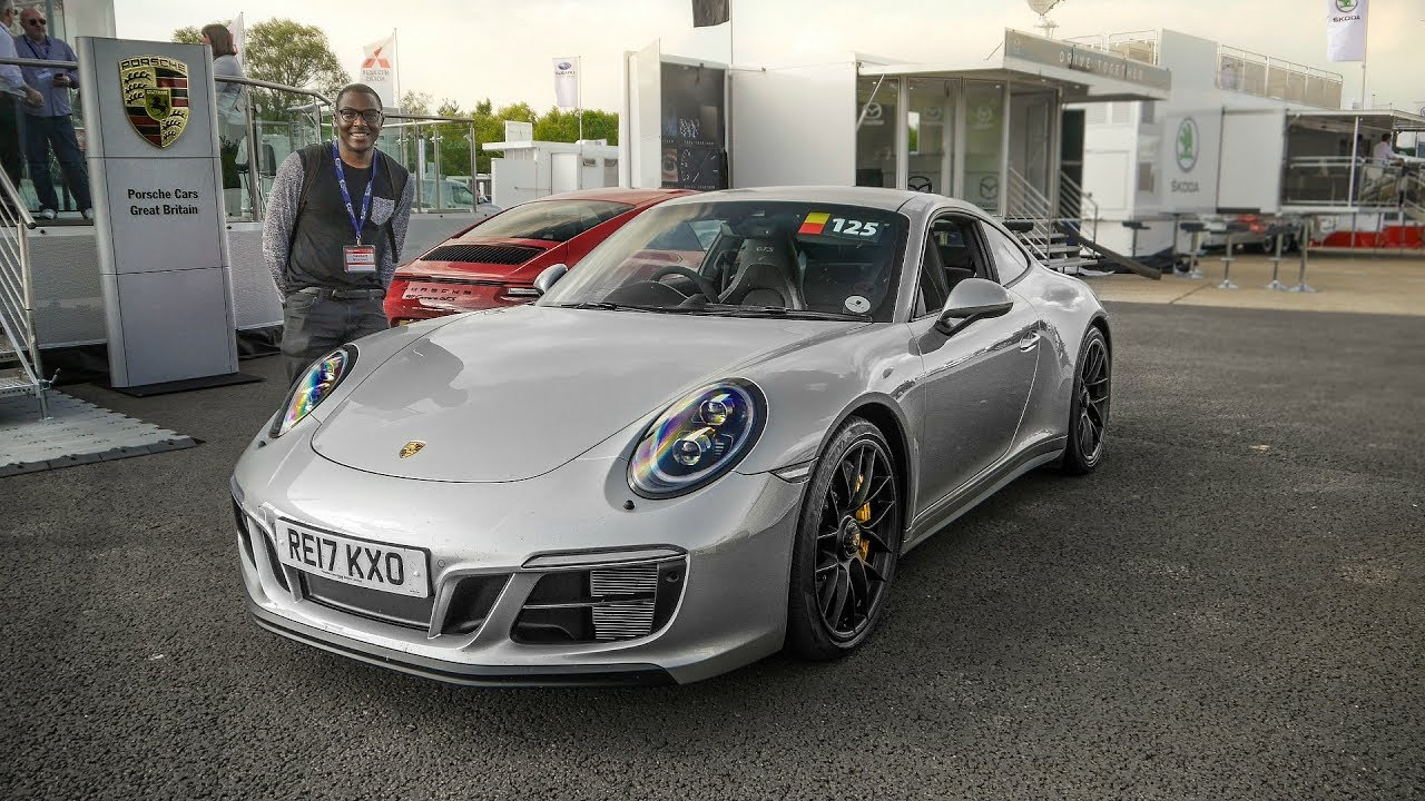 2017 porsche 911 991 2 gts first drive with a le mans champion youtube. Black Bedroom Furniture Sets. Home Design Ideas