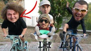 BİSİKLETTEN SON İNEN KAZANIR ! w/ Mesut Can Tomay & Rıdvan Abi & Cihan Albayrak