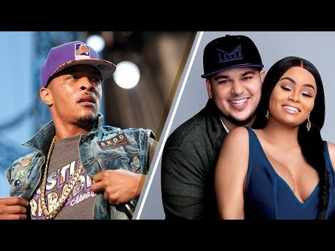 """Rapper T.I. ANGRY Over Rob Kardashian/Blac Chyna Threesome Accusations: """"Secrets are Sacred!"""""""