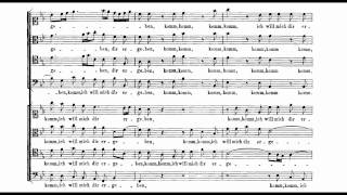 "Bach Motet BWV 229 ""Komm, Jesu, komm"""