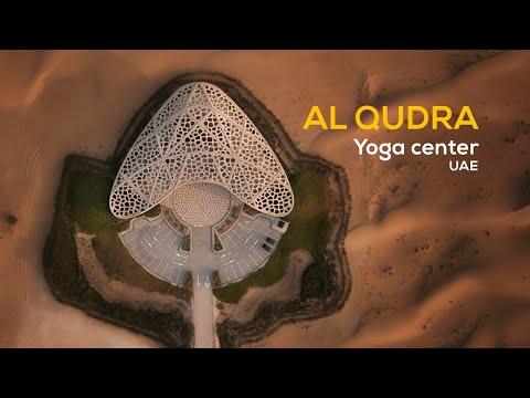 #Thearchmagazine Al Qudra yoga centre - UAE