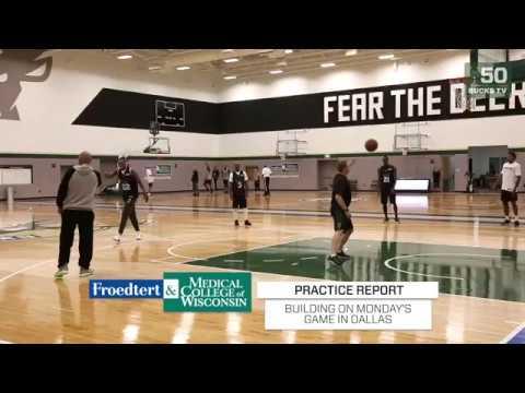 Giannis Returns To Practice