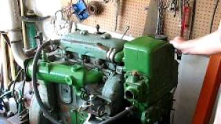 Detroit Diesel 3-71 start and run