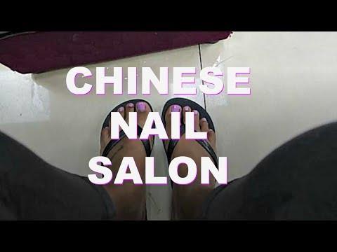 CHINESE NAIL SALON | Living In China: VLOG 53