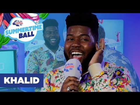 Khalid Sings 'Talk' As Ariana Grande & Niall Horan | Capital