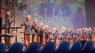 【央廣】誇戰歌&聯歡歌--高雄市茂林國小(2013 娜魯灣文化節)