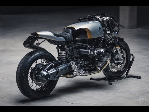 Repeat Yamaha XV1000 Cafe Racer Lamborghini Orange by Peter