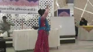 By kishika mathur dance performed in Jaipur cultural society