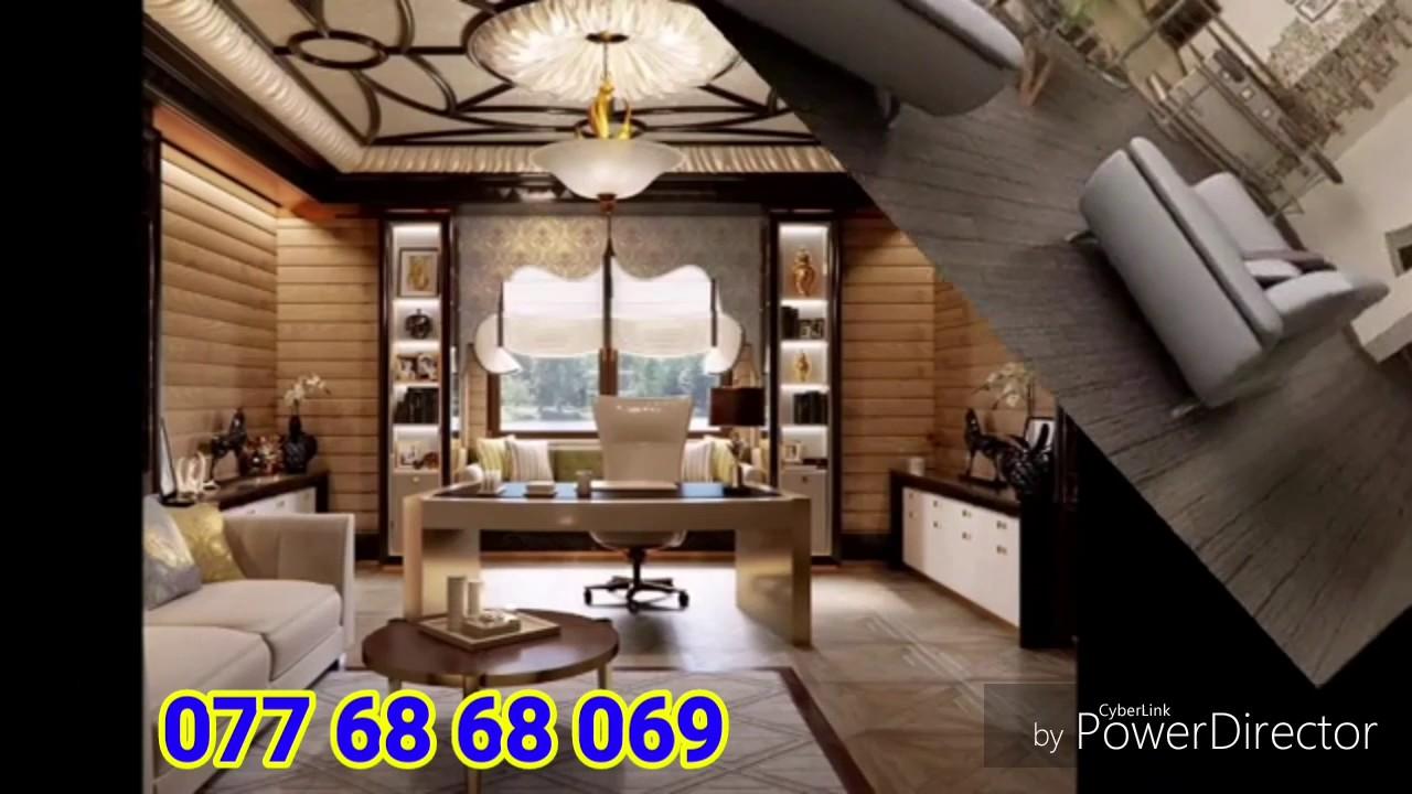 Gypsum Ceiling For Living room 2017 (Lanka Moulding)
