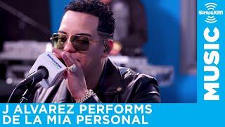 J Alvarez performs De La Mia Personal for a SiriusXM Artist Confidential