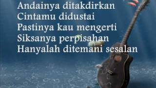 BILA CINTA DIDUSTA LIRIK MP3