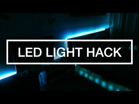 PIMP YOUR ROOM HACK: REMOTE LED!