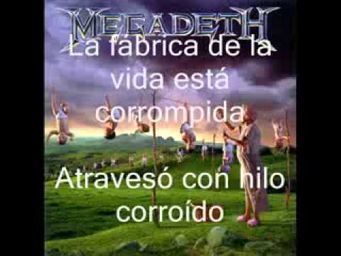 Megadeth Train of consequences subtitulado