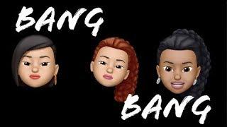 Bang Bang ~ Jessie J Ft: Ariana Grande & Nicki Minaj |Animoji Karaoke|