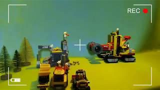 Нападение МЕДВЕДЯ на СтаРаТеЛей LEGO City 60188 Конструктор ЛЕГО Город Шахта