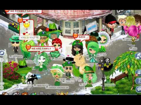Rec040   Yoville - Wednesday Green Protest  2º Parte