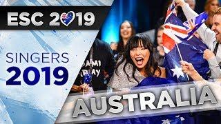 Eurovision 2019 | Australian Participant List