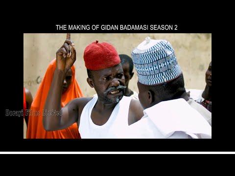 """Download Gidan Badamasi 2"""" BAYAN FAGE (the making) part 1. Tare da YAYA Dankwambo (Nura Dandolo)"""