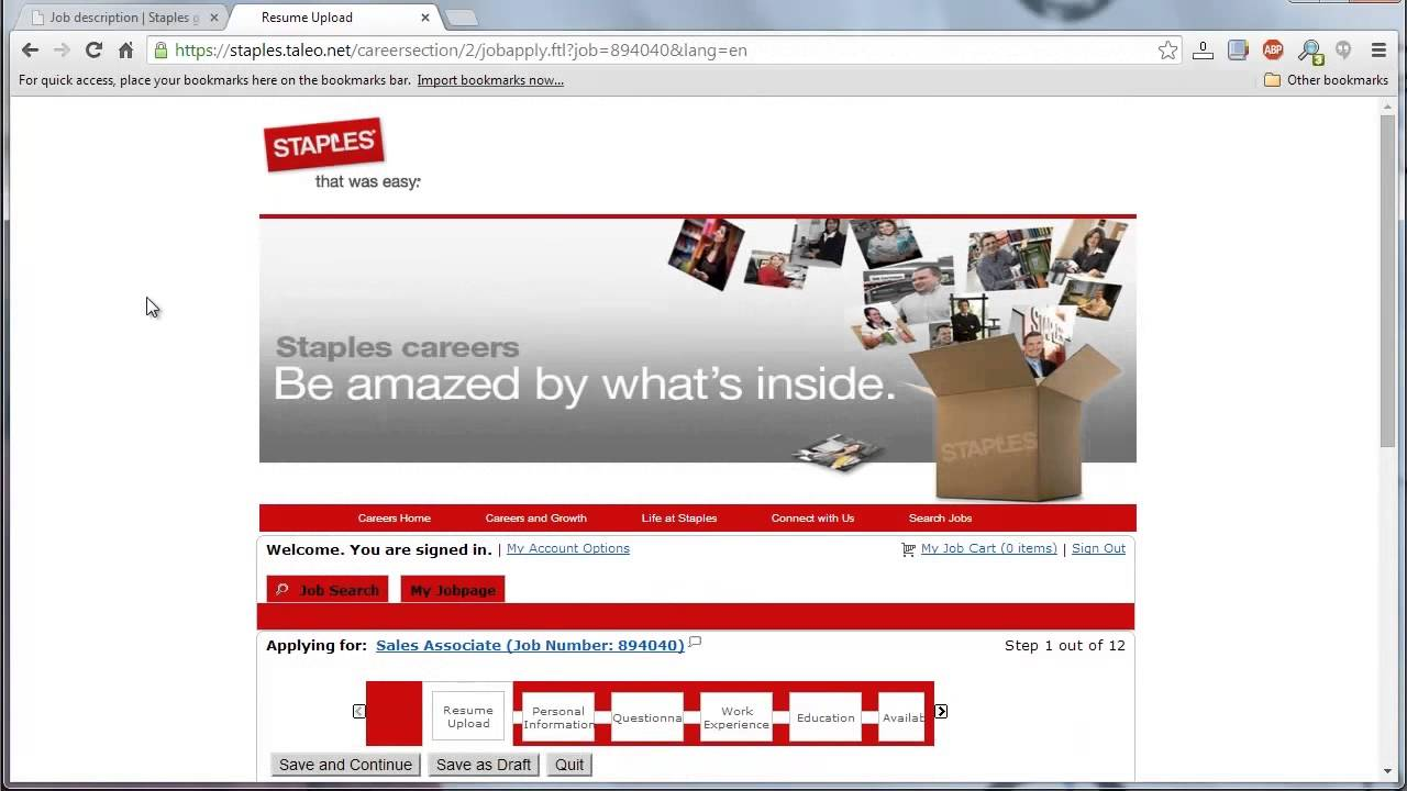 Staples application online video youtube staples application online video falaconquin