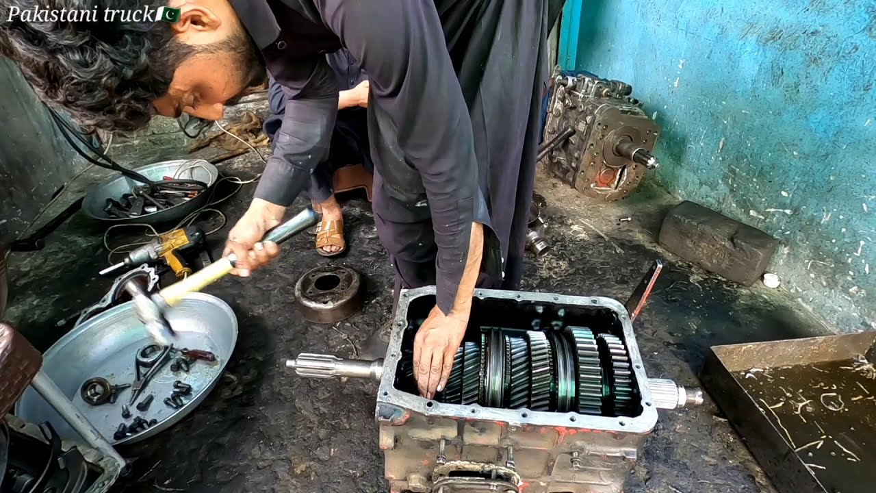 gear box repairing and fitting
