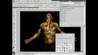 Рисуем зомби в Photoshop
