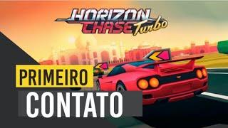 Horizon Chase Turbo PS4   Primeiro Contato  È DO BRASILLLL #horizon #chase #Turbo #Games #nacionais