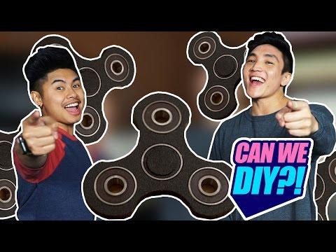 CAN WE DIY?! | FIDGET SPINNER?!