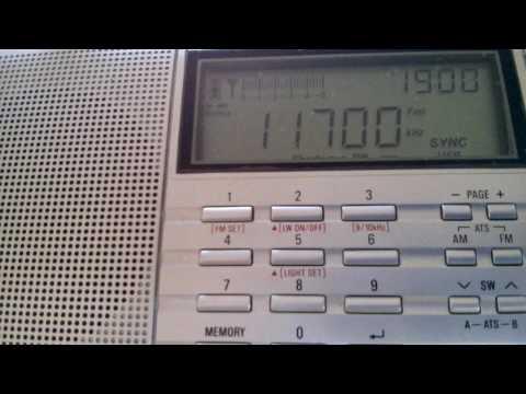 Radio Biafra (transmitter Kostinbrod, Bulgaria) - 11700 kHz