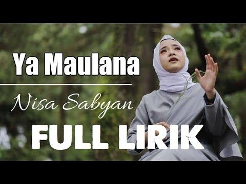 lagu-nissa-sabyan---ya-maulana-full-lirik