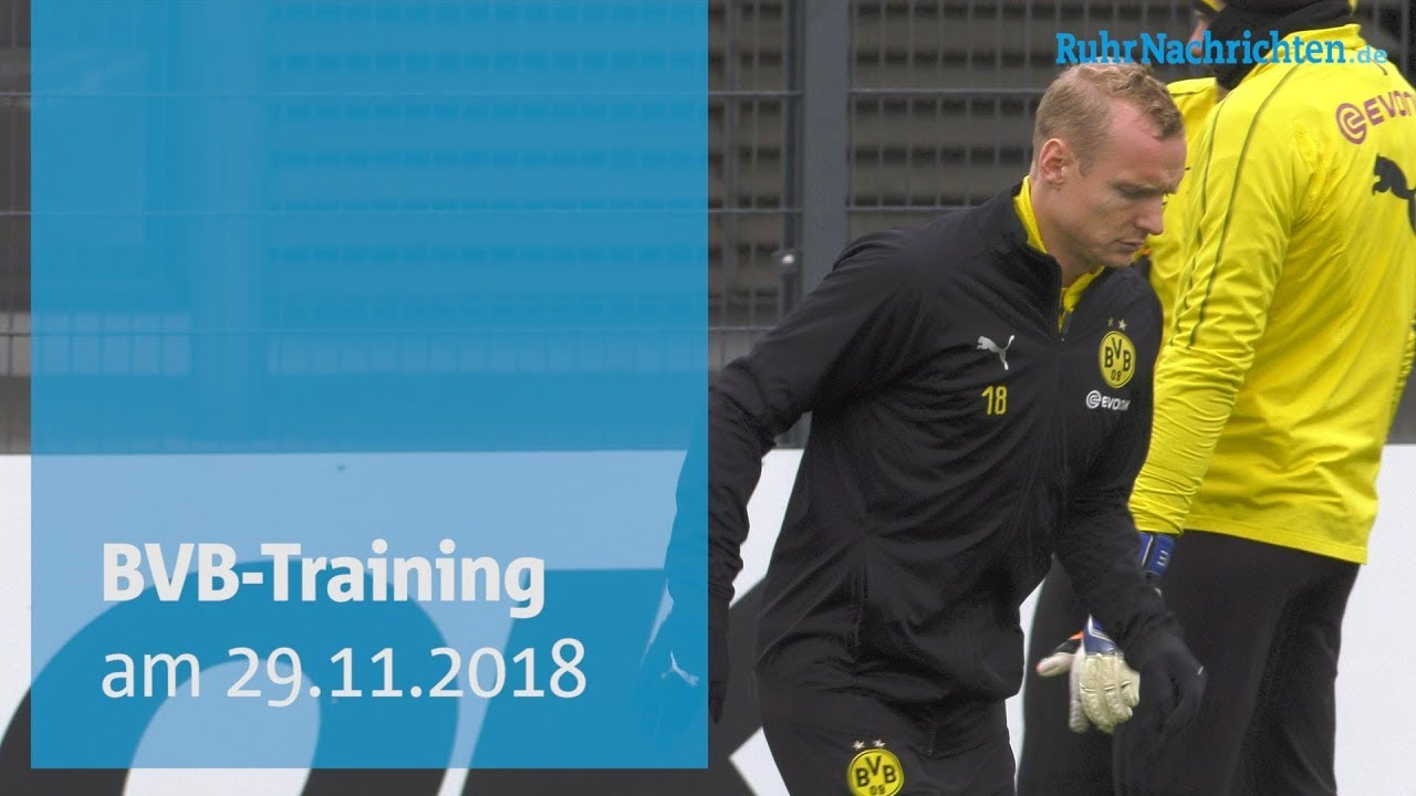 Öffentliches BVB-Training in Brackel am 29. November