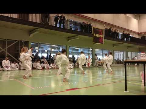 Ploegkata preminiemen - Jeugdoefenwedstrijd Assenede 2017