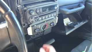 DIY Car Stereo Install in a Jeep TJ