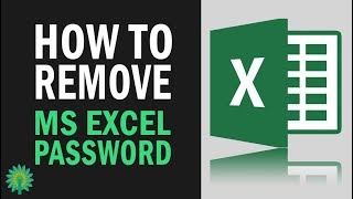 How To Remove Password From EXCEL (xlsx) File