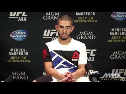Louis Smolka: 'Belligerent' Irish Fans 'Made It Fun' At UFC 189