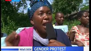 Kilifi County women demonstrate against appointment of a male Sub-chief