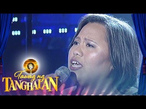 Tawag Ng Tanghalan: Josephine Aton | I Live For Your Love