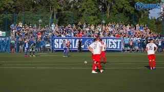 Doping fanatyków Ruchu Chorzów w Częstochowie (07.08.2019 r.)