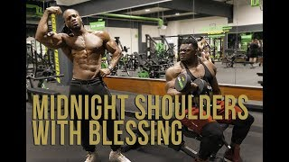 Midnight Shoulders with Blessing Awodibu