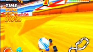 Speed Punks Game Sample - Playstation