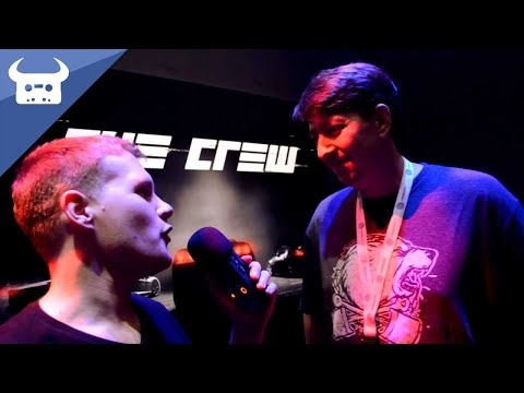 DAN BULL AT E3 | The Crew - game director interview